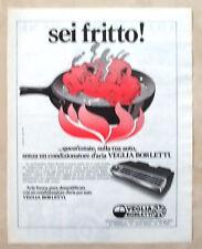 D451-Advertising Pubblicità-1975 - CONDIZIONATORE AUTO VEGLIA BORLETTI