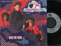 """THOMPSON TWINS hold me now  let loving start 7"""" PS EX/EX german 106 037-100"""