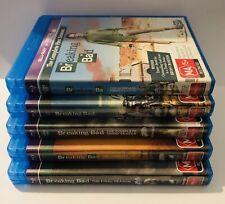 Breaking Bad Complete Seasons 1-5 VGC 13-Discs Series MA15+ Region Free 🍿 Drama