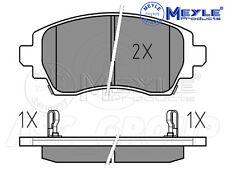 Meyle Brake Pad Set, Front Axle With anti-squeak plate 025 230 8818/W