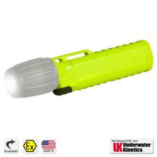 Ersatzgehäuse UK 4AA eLED ZOOM Helmlampe Frontschalter neongelb