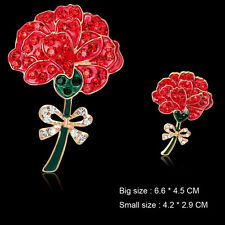 X'mas Gift Banquet Enamel Remembrance Red Poppy Flower Pins Brooch Broach Badge