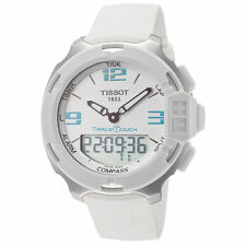 Tissot Men's T0814201701701 T-Race Touch 42.15mm White Dial Synthetic Watch