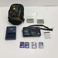 Canon Power Shot SX210 IS Digital Camera PC1468 with Lots of Accessories