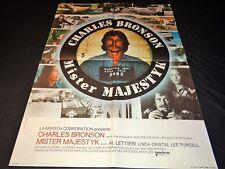 charles bronson MISTER MAJESTYK ! affiche cinema 1974