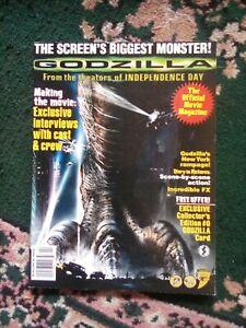 Godzilla Official Movie Magazine, 1998_ Starlog Movie Series #4