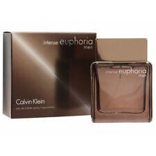 Calvin Klein CK EUPHORIA FOR MEN INTENSE 100ML EDT  Spray Sealed Boxed~FREE POST