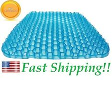 Gel Chair Cushion Seat Cushion Breathable Design Pillow Pad with Washable Cover