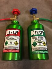 Artificial Nitrous Oxide Bottles Streetfighter GSXR Bandit Custom Car Nos R1.