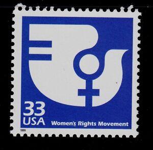 UNITED STATES SCOTT# 3189j MNH    WOMEN'S RIGHTS MOVEMENT