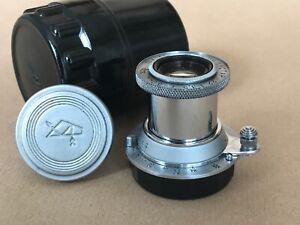 Industar 22 50mm f:3.5 Collapsible ltm (M39) lens - Rare 10 Blades Aperture