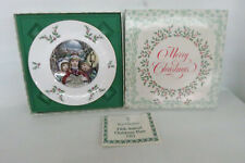 Royal Doulton 1981 Fifth of Series Annual Christmas Holiday Plate in Box 1170B