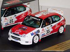 TOYOTA COROLLA WRC MOBIL 1 #35 ACROPOLIS 1998 ZIVAS SKID SKM99013 1:43