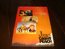 JAMES AND THE GIANT PEACH 1996 Oscar ad Best Score by Randy Newman, Henry Selick