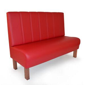 Sitzbank Modell Hamburg in rot