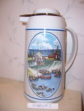 NEW Noritake PIONEER BAY Patriotic Flag 1 Liter INSULATED THERMAL CARAFE - NEW