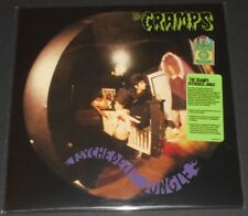 THE CRAMPS psychedelic jungle USA LP new sealed GREEN VINYL limited #0906/1500