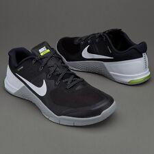Nike Metcon 2 Running Training Black White Grey Volt UK Size 7.5 819899 001