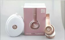 Beats By Dr Dre Solo 2 Rose Gold Wireless Headphones RRP £269- Rose Gold