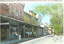 Sutter Street in Colorful Folsom   California  Chrome Postcard 12218