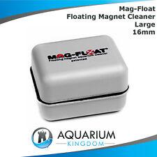 Mag-Float LARGE Floating Magnetic Cleaner 16mm Glass Aquarium Algae Magnet Tank
