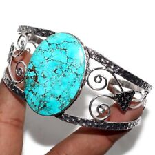 Turquoise 925 Sterling Silver Plated  Bangle GW