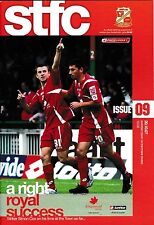 Football Programme>SWINDON TOWN v TRANMERE ROVERS Oct 2007