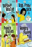 Read with Oxford: Stage 3: Biff, Chip and Kipper 4 Books Collection set Palace