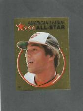 1982 O-Pee-Chee Baseball Sticker Ken Singleton #136 All-Star Foil Orioles *MINT