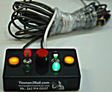 Remote controls for  any remote control switches O or O27 with spur pwr switch