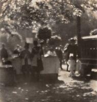 1926/80 Original JOSEF SUDEK Silver Gelatin Photograph KOLIN ISLAND PICNIC Czech