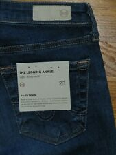 """AG JEANS """"THE LEGGING"""" ANKLE SUPER SKINNY JEANS 13YEARS DAWN MENDED  NWT SZ 23"""