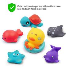 Baby Badespaß Blubberwal Badewannen-Spielzeug Sonnenblume Form Lernen 2 typ NEU
