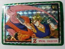 Carte Dragon Ball Z DBZ Special Collection Part 3 #57 Prisme MADE IN TAIWAN