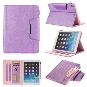 Smart Leather Case Cover Wallet For iPad 5 6 7 8th Gen Mini 5 Air 4 Pro 11 12.9