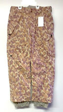 ANALOG Men's BOUNDARY Snow Pants - DUST CAMO - Large - NWT
