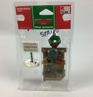 LEMAX Coventry Cove Wreath Display CHRISTMAS VILLAGE Accessories