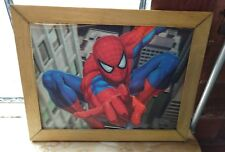 Spiderman 3-D Picture, Framed!  Awesome # D Spider-Man Jumps Out At You!