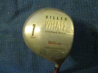 Wilson Killer Whale Orcinus Orca Driver 10.5* Firestick Regular graphite Shaft