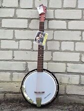 musima banjo 6 strings made in germany