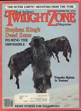 The Twilight Zone Stephen Kings Dead Zone, Timothy Hutton w/Ml Vg 053116Dbe