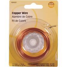 100 Pk Hillman 16 Ga X 25' General-Purpose Copper Wire 123127