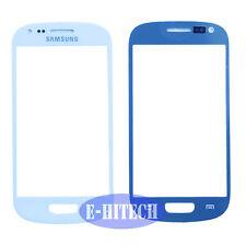 Samsung Galaxy S3 Mini i8190 Blanco Lente de Cristal Frontal Pantalla Exterior SIII