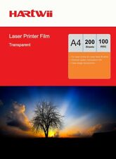 200 Sheets A4 Overhead Projector Film OHP Film Clear For Laser Printing Hartwii