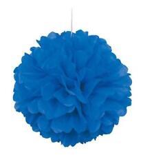 Globos de fiesta color principal azul de bandera