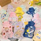 1pc Cute Hot Water Bottle Warm Belly Treasure Cartoon Warmer Filled Mini Y1