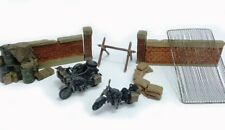 PMA pmap0306 1/72 II Guerra Mundial Ejército Alemán Motocicleta Carretera Set (