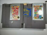 Track & Field 1 & 2 Game Lot (Nintendo Entertainment System)Nes TESTED