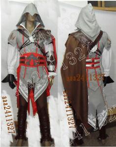 Assassin's Creed 2 Costume II EZIO anime cosplay NEW