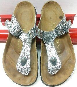 Papillio By Birkenstock Gizeh PAP Womens Size 7 (38) Regular Fit Thong Sandals